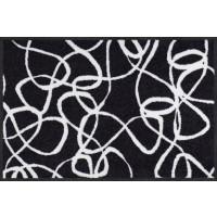 Fußmatte Salonloewe Ink Lines black-white
