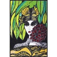 Fußmatte Salonloewe Donna con fiori