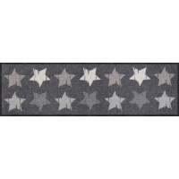 Fußmatte Wood Stars Grey M
