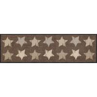 Fußmatte Wood Stars Nougat M