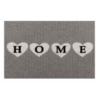 Fußmatte Clean Keeper Home Herzen grau 50x70