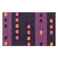 Fußmatte Clean Keeper Punkte lila