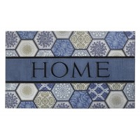 Fußmatte Eco Master home blue tiles