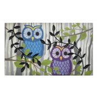 Fußmatte Eco Master retro owls
