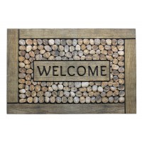 Fußmatte Eco Master welcome frames pebbles