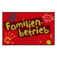 Fußmatte Salonloewe Design Familienbetrieb