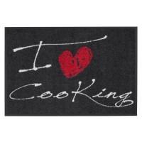 Fußmatte Salonloewe Design I Love Cooking Heart