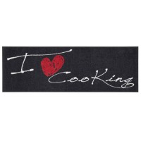 Fußmatte Salonloewe Design I Love Cooking Heart XXL