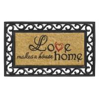 Fußmatte Impala love makes a house home