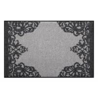 Fußmatte Salonloewe Design Leila Grey 50 cm x 75 cm