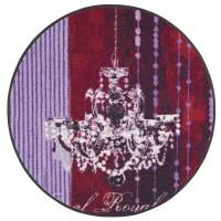 Fußmatte Salonloewe Anna Flores Lüster Royal rund 85 cm