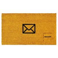 Fussmatte Mailbox Yellow