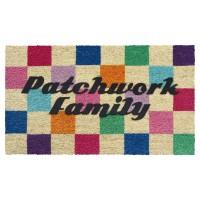 Fussmatte Patchwork Family