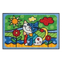 Fußmatte Salonloewe Pop Art Cat