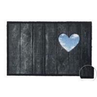 Fußmatte Prestige Wood Panel Heart