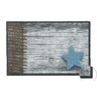 Fußmatte Prestige Wood Panel Star