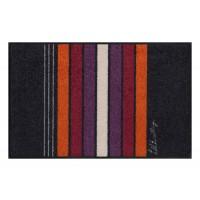 Fußmatte Salonloewe Block Strips Black 50 cm x 75 cm