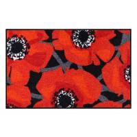 Fußmatte Salonloewe Bloom Poppy Black