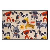 Fußmatte Salonloewe Hundetreffen