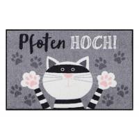 Fußmatte Salonloewe Pfoten hoch Katze