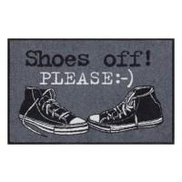 Fußmatte Salonloewe Shoes off Please