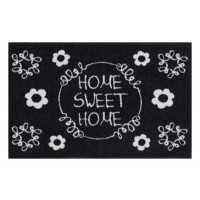 Fußmatte Salonloewe Sweet home black&white