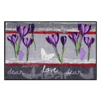 Fußmatte Salonloewe sweet love lilac
