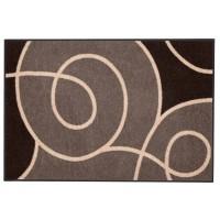 Fußmatte Salonloewe Design Swoop Braun