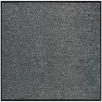 Fußmatte Uni anthrazit quadratisch