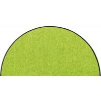 Fußmatte Salonloewe Uni apfelgrün halbmond