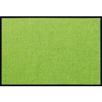 Fußmatte Salonloewe Uni apfelgrün rechteckig