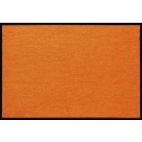 Fußmatte Salonloewe Uni kürbis orange rechteckig