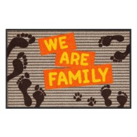Fußmatte Salonloewe Design We are Family