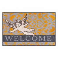 Fußmatte Salonloewe Design Welcome Angel