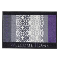 Fußmatte Salonloewe Design Welcome Home Lila