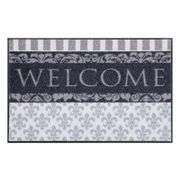 Fußmatte Salonloewe Design Welcome Lilien