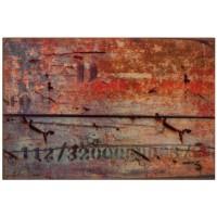 Fußmatte Classic Holz Vintage