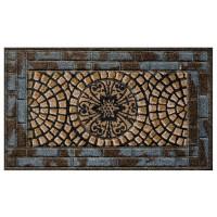 Kokosfußmatte Coco Design Stone Mosaik