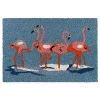 Kokosfußmatte Ruco Print Flamingos