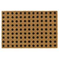 Kokosfußmatte Ruco Print natural dots