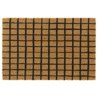 Kokosfußmatte Ruco Print natural squares