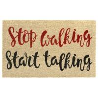Kokosfußmatte Stop Walking