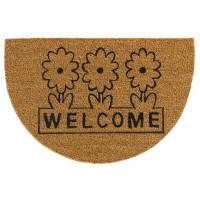 Kokosfußmatte Welcome Flowers