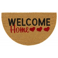 Kokosfußmatte Welcome Home Hearts