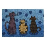 Kokosfußmatte Ruco Print cats