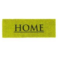 Kokosfußmatte Ruco Print Home lime grün