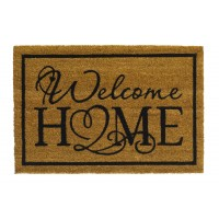 Kokosfußmatte Ruco Print natural welcome home