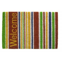 Kokosfußmatte Ruco Print welcome stripes