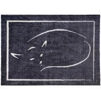 Fußmatte colour print Katze schlafend