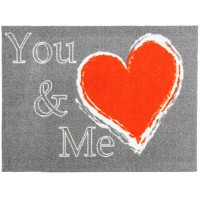 Fußmatte colour print you and me